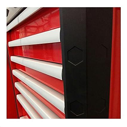 Fuerza Meister carro de herramientas Redline 38 Pro con 7 cajones - color rojo: Amazon.es: Bricolaje y herramientas