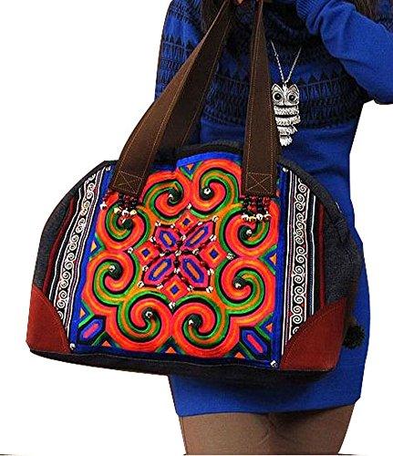 Exquisite Handtasche Tote Hobo Einkauf Erlesene Tasche 100% Handgemachte Kunstwerk # 117 - FREIE FRACHT NU2Iqbzwm