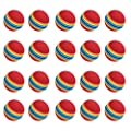 Lowpricenice 20pcs Sponge Golf Ball Golf Training Soft Balls Practice Ball