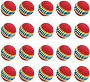 20pcs Sponge Golf Ball Golf Training Soft Balls Practice Ball