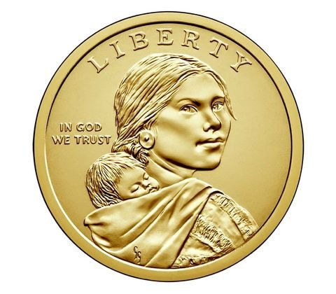 2018 P Native American Sacagawea US Mint Wrapped Roll Brilliant Uncirculated
