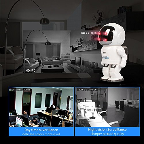 Security Camera 960P HD Wireless Space Robot Camera Baby Monitor WIFI Camera Pan-Tilt Smart Home IP Camera Night Vision CCTV Cam R10