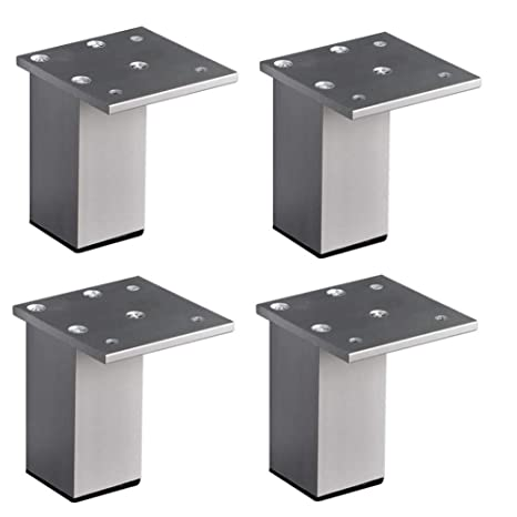 Jffffwi Furniture Feet Square Feet Furniture Legs Square Aluminum