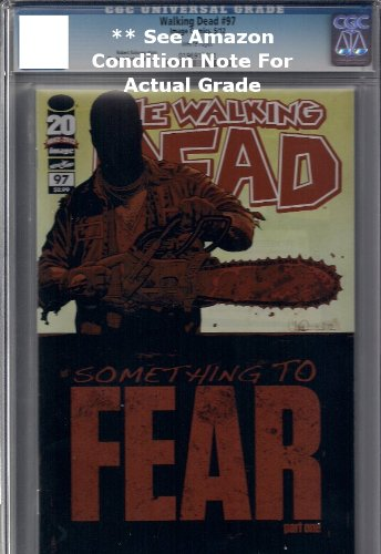 The Walking Dead #97 First Print CGC Graded **See Amazon Condition for Grades of Each Listing**