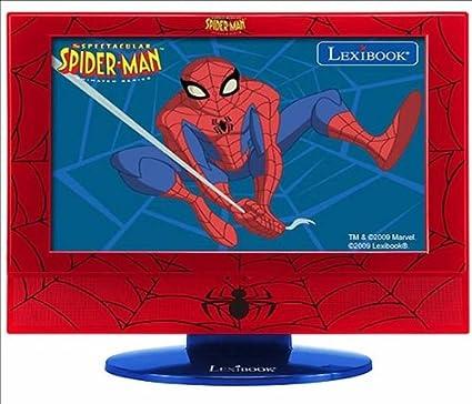 Lexibook Spiderman LCD 19- Televisión, Pantalla 19 pulgadas: Amazon.es: Electrónica