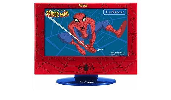 Lexibook Spiderman LCD 19- Televisión, Pantalla 19 pulgadas ...