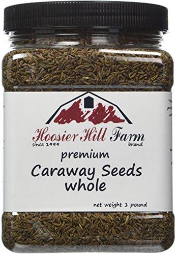 Hoosier Hill Farm Whole Caraway Seeds 1 lb by Hoosier Hill Farm