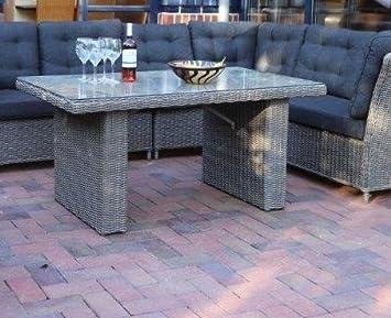 Amazonde Destiny Loungetisch Riviera 140 X 80 Grau Lounge Tisch