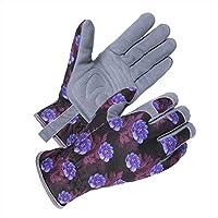 SKYDEER Deerskin Leather Suede Gardening Glove