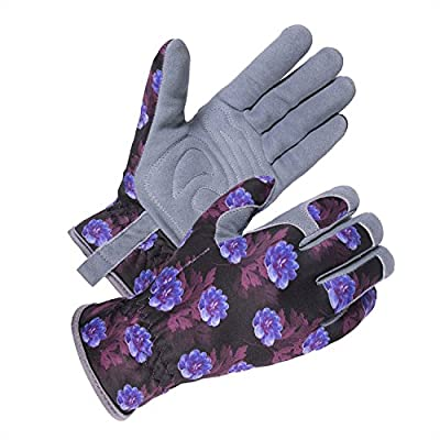SKYDEER Deerskin Leather Suede Gardening Glove