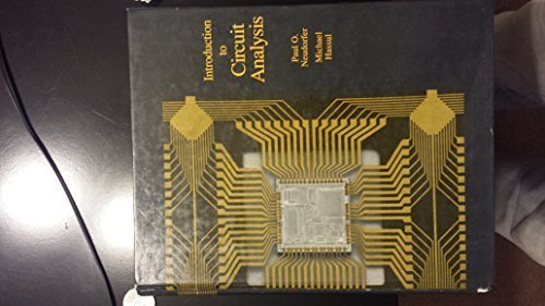 Introduction to Circuit Analysis (Allyn and Bacon series in engineering)
