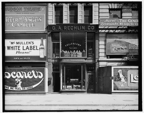 Photo: Detroit Photographic Company,229 Fifth Avenue,store,studios,New - Stores Avenue Map 5th