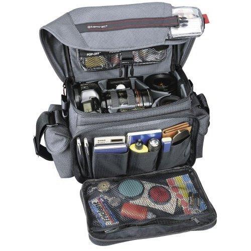 (Tamrac 606 Zoom Traveler 6 Camera Bag (Gray) )