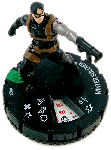 Shield Heroclix Marvel - Marvel Heroclix: Nick Fury, Agent of Shield Winter Soldier 024