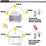 ABCCANOPY Instant Canopy SunWall for 8x8 Feet