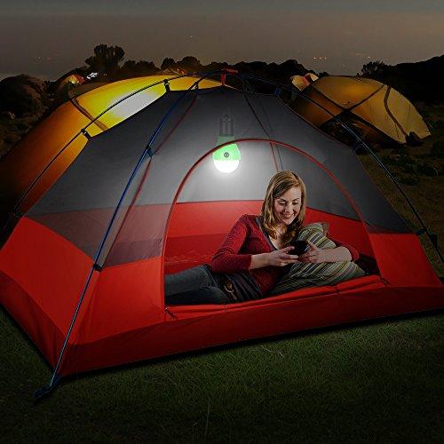 4 St/ück Campinglampe LED,Mopoin Camping Lampen Camping Laterne Wasserdicht Leuchtmittel Lampe Zelt mit Karabiner f/ür Camping Abenteuer,Notlicht,Stromausfall oder Outdoor-Aktivit/äten