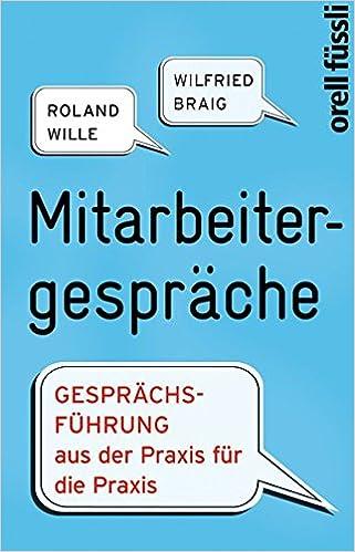 Cover des Buchs: Mitarbeitergespräche
