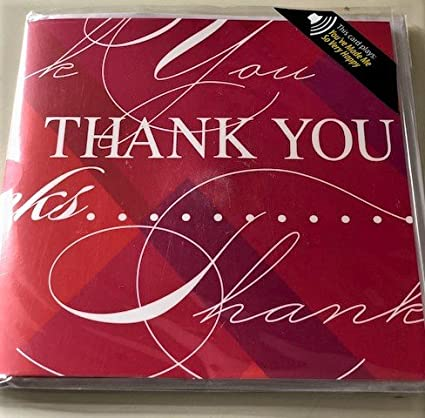 SINGING THANK YOU CARD WITH HIT SONG MUSICAL GREETING CARDS KIDSLOVE HALLMARK