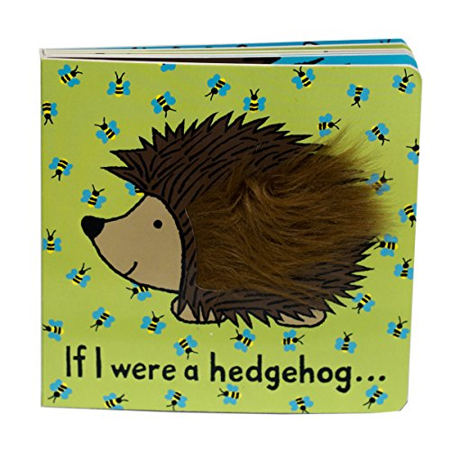 Jellycat Board Books, If I were a (Hedgehog Tails)