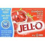JELL-O Jelly Powder Light - Strawberry 10.1G x 18