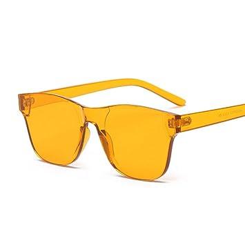 Chudanba Gafas de Sol sin Montura Mujeres Transparentes ...