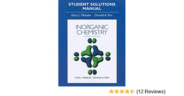 Amazon solution manual for inorganic chemistry 9780136128670 amazon solution manual for inorganic chemistry 9780136128670 gary miessler donald a tarr books fandeluxe Images