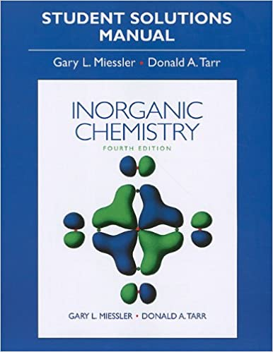 Inorganic chemistry: principles of structure and reactivity by.