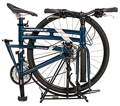 "Montague Navigator Folding 700c Hybrid Bike Midnight Blue 21"" - New Model"