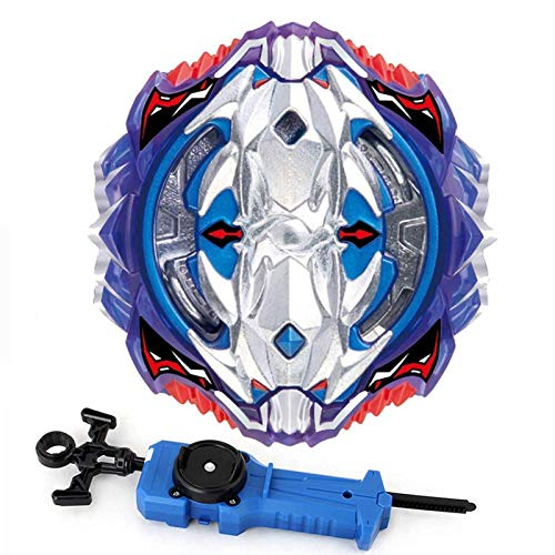 (Buywin Bey Burst Blade Launcher,Bay Battling Top Booster B-118 Vol.11-1 Vise Leopard .12L.Ds,High Performance Bey Burst Blades Starter 4D Bey Launcher Spining Top Game Toys)