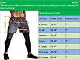 "Neleus Men's 7"" Workout Running Shorts with"