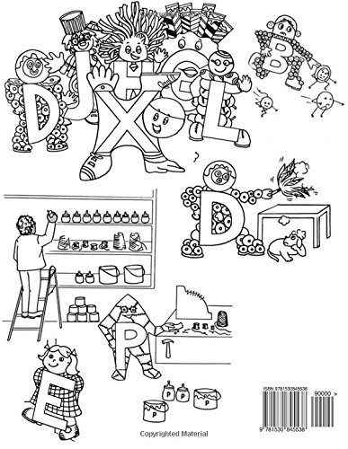 Letter People - Alpha Time Curriculum Worksheets: Letter People ...