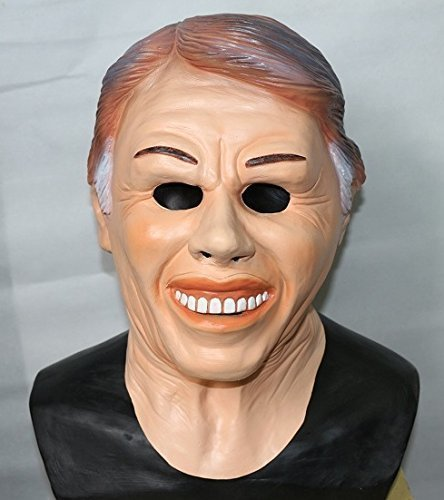 Jimmy Carter Ex President Latex Mask American Fancy Dress By The Rubber Plantation tm by The Rubber Plantation tm -