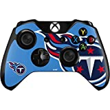 Skinit NFL Tennessee Titans Xbox One Controller Skin - Tennessee Titans Large Logo Design - Ultra Thin, Lightweight Vinyl Decal Protection