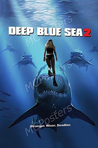 MCPosters - Deep Blue Sea 2 Movie Poster GLOSSY FINISH - MCP