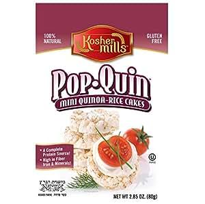 Kosher Mills - Pop Quin Mini Quinoa Rice Cakes