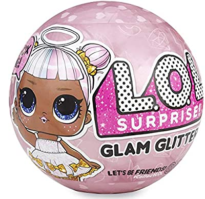 LOL Surprise Dolls Gift Bundle Includes (1) Limited Edition Glitter Glam + (1) Eye Spy Series 4 Pets + 8 L.O.L Tattoos + Bonus Action Media Storage Bag!