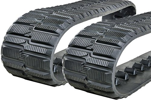 Two 9'' (240mm) Rubber Tracks for Toro Dingo TX425 Wide, TX427 Wide and TX 525 Wide by HiQual