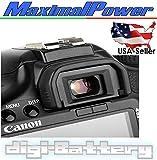 MaximalPower Eyecup Ef For CANON EOS Rebel XT, XTi, XS, XSi, T1i, T2, T2i, T3, T3i, T4i, T5i, SL1