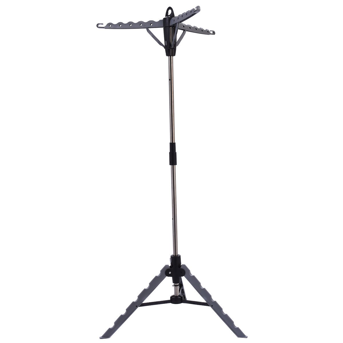Clothes Hanger Drying Portable Multifunctional Retractable Laundry Racks Tripod by TF-Godung (Image #3)