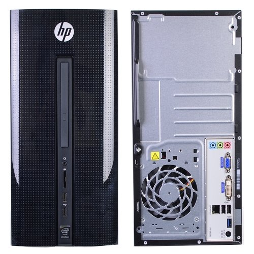 HP 251-a123wb Desktop PC with Intel Quad-Core Pentium J2900 (2M Cache, up to 2.67 GHz) Processor, 4GB Memory, 21.5'' Monitor, 1TB Hard Drive and Windows 10 Home