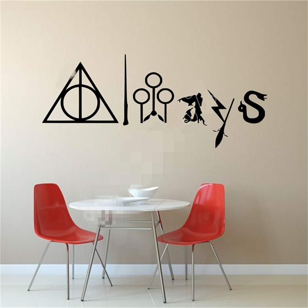pegatinas de pared disney Harry Potter Always Kids Adult Home ...
