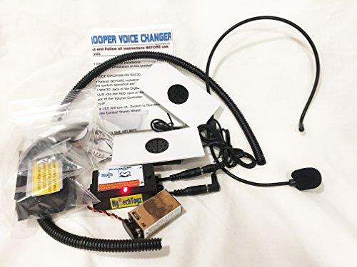 FIRST ORDER HELMET VOICE CHANGER SYSTEM - SOUND LIKE A STORMTROOPER (Black Stormtrooper Costume)