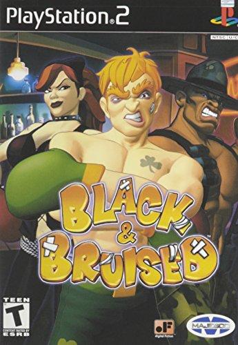 Black & Bruised - PlayStation 2 (Boxing Ps2)