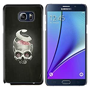 """Be-Star Único Patrón Plástico Duro Fundas Cover Cubre Hard Case Cover Para Samsung Galaxy Note5 / N920 ( Puzzles y cráneo - Goth"""" )"""