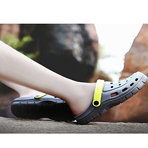 Outdoor acqua Summer Gray Traspirante Garden Pantofole Zoccoli Scarpe Beach Xiaoqin Mens antiscivolo da Sandali AwP6qS