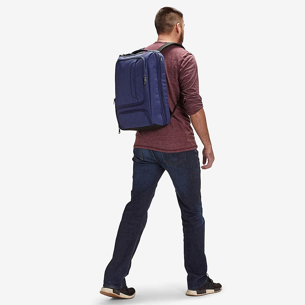 Fits 17 Inch Laptop Anti-Theft - School /& Business eBags Professional Slim Laptop Backpack for Travel Sage Green