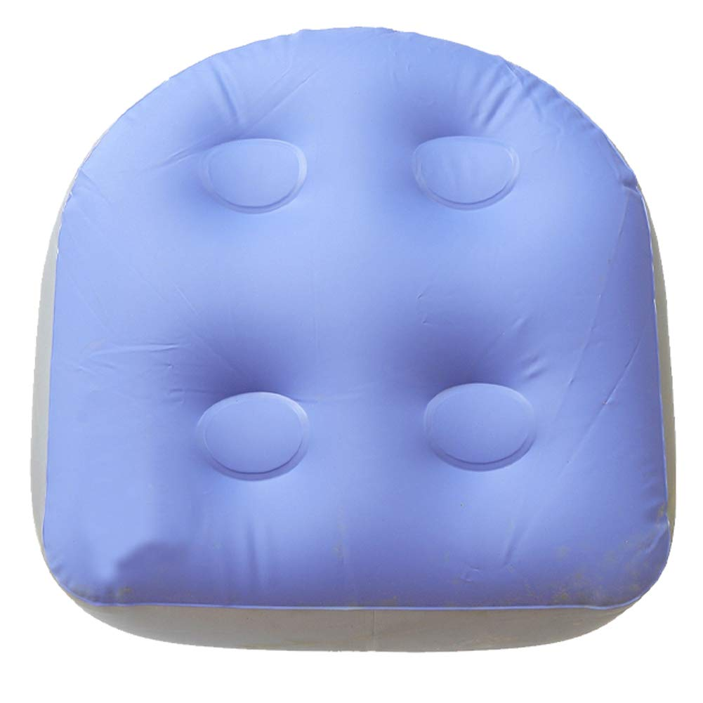 Spa and Hot Tub Booster Seat, Inflatable Bathtub Massage Cushion, Relaxation Massage Mat with Suction Cups, Soft Back Support Bath Spa Pad for Adults Elders Kids at Home Spa&Rest