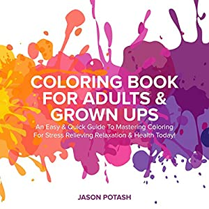 Coloring Book for Adults & Grown Ups Audiobook
