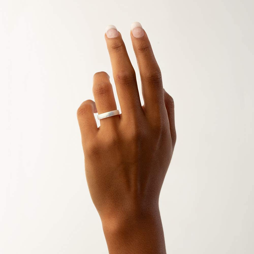 and Safe Silicone Ring Enso Rings Thin Legend Silicone Ring Ultra Comfortable Made in The USA Breathable