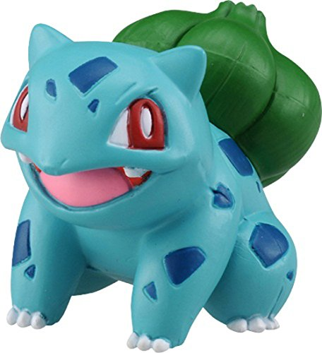 Takaratomy Pokemon Sun & Moon EX EMC-15 Mini Action Figure, Bulbasaur (Mini Legs Figure)